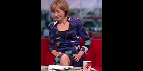 Sian Williams, Upskirt, Stockings