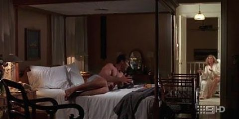 Dennis Quaid Sexy Bare Chested  In Undercover Blues