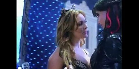 Bobbi Sue Luther - topless and lesbian