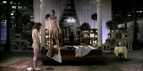 Anne Louise Hassing nude in Theater